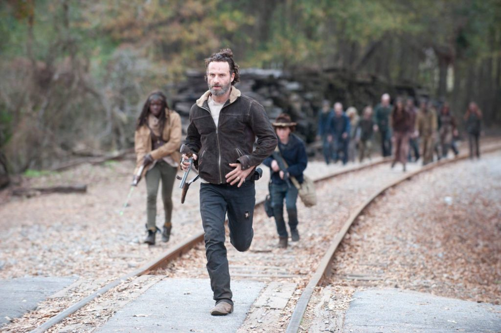 See miles of RR track, abandoned buildings, backroads and other locations where The Walking Dead has filmed.
